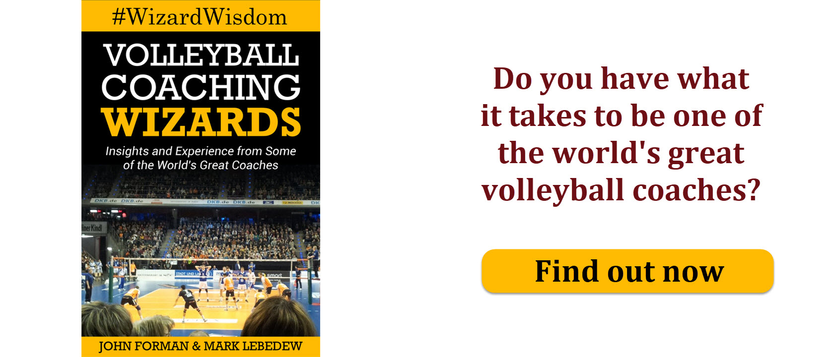 Could you be one of the world's great volleyball coaches? Click to find out.